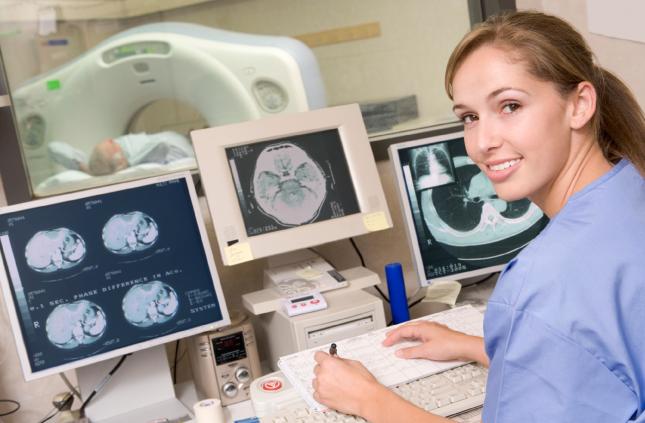 Coronary Calcium Scoring Exam example image